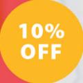 10% offer banner